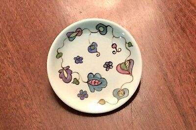 MIDWINTER :ENGLAND :STAFFORDSHIRE :POTTERY :PIN DISH : Signed :  M. RAMSAY 1961. • 18.90£