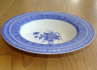 Churchill OUT OF THE BLUE Soup Bowl Or Plate Rimmed  • 8.95£