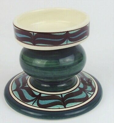 Vintage Retro Jersey Pottery Candlestick Candle Holder • 5£