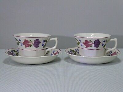 Adams Ironstone Old Colonial Cup And Saucer X 2  Super Condition  • 7.50£
