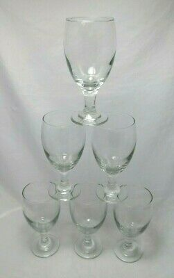 Libbey Classic Clear Ice Tea Glasses 7 1/8  Tall Set Of 6 • 38.38£