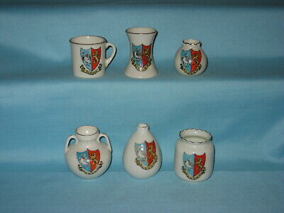6 Crested Pieces - All With SLOUGH Crest • 5.99£