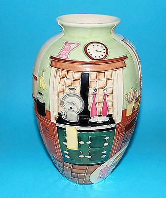 OLD TUPTON WARE Pottery Vase ' Country Kitchen '  BOXED (3702) • 35£