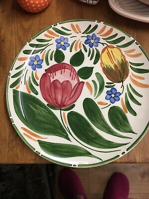 "Wade Royal Victoria Pottery Tulip Pattern 10"" Plate/dish • 5£"