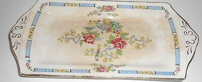 ANTIQUE TSING NELSONWARE Pottery TRAY PLATE MADE IN ENGLAND • 10.99£