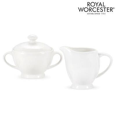 Royal Worcester Serendipity Sugar And Cream Set | Fine Bone China • 21.99£