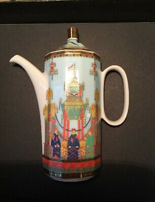 Rosenthal Studio-linie Boxed Versace Miniature Coffee Pot Outstanding Condition  • 60£