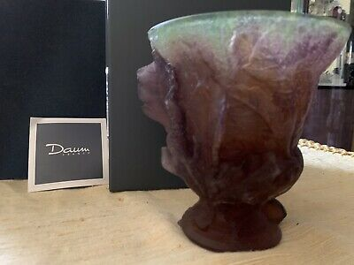 Daum Fig & Lizard Vase • 573.96£