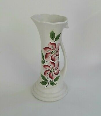 Radford Pottery - Vintage Handpainted Swan Shaped Tall Jug  10  • 18£