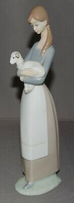 LLADRO 4505 GIRL WITH LAMB FIGURINE AS FOUND (free Postage)  • 9.99£