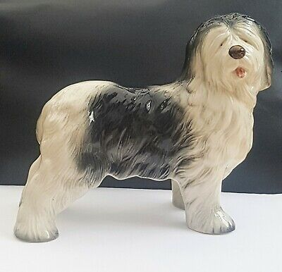 Melba Ware Old English Sheepdog Figurine Approx 7.5 Inches  • 6£