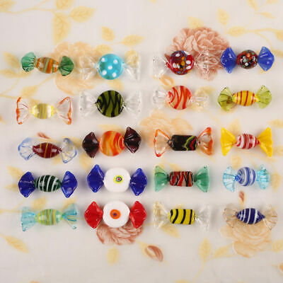20pcs Vintage Murano Glass Sweets Wedding Xmas Party Candy Decorations Gift • 7.69£
