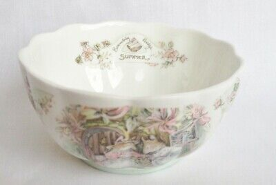 Brambly Hedge Summer Petal Bowl - Royal Doulton • 70£