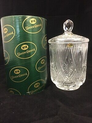 Stunning Rare Boxed Tyrone Irish Crystal Ice Bucket With Lid The Shannon Suite  • 72.99£