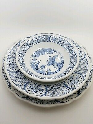 Old Chelsea Dinner& Tea Plate And Cerial Bowl • 21£