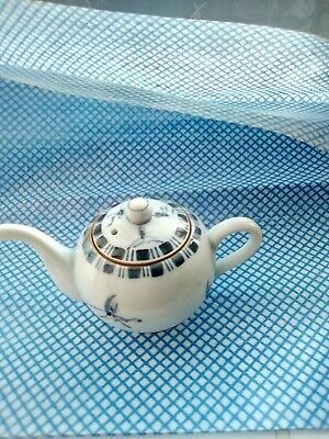 Japanese Child Size Tea Pot Hand Decorated And Signed  • 3£