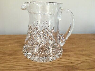 "ROYAL DOULTON CRYSTAL ""georgian"" WATER JUG 6.5 Inches PRISTINE • 33£"