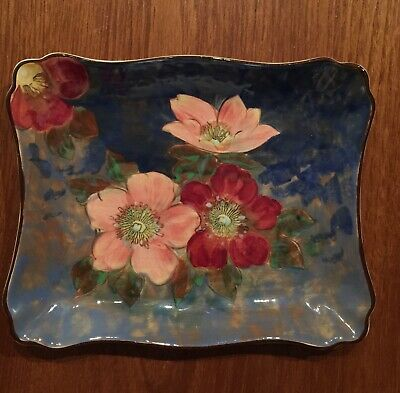 Royal Doulton, Hand Painted 'WILD ROSE' Rectangular Tray/Dish D6227  • 35£