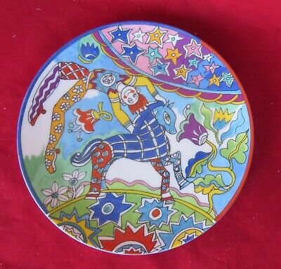 Fantasy 7  China Plate By Gene Moore For Tiffany - Pristine - Free Shipping • 18.24£