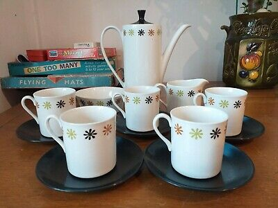 Vintage Myott Thirteen Piece Telstar Coffee Set • 15.99£