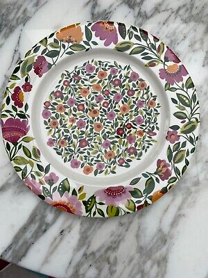 Spode 12in Plate Emma's Garland By Kim Parker • 10£