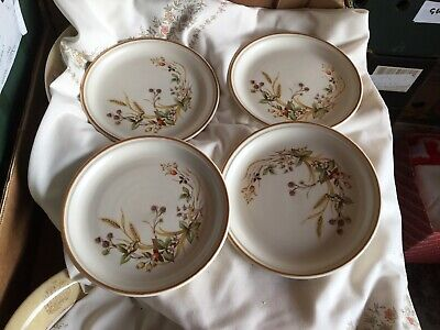 Marks And Spencer Harvest Tea / Side Plates X 4.     J • 9.99£