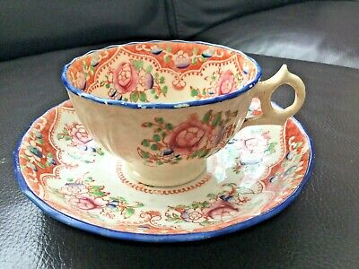 Antique Victorian Tea Cup & Saucer Lovely • 8.99£