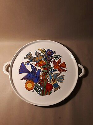 VILLEROY BOCH ACAPULCO DESIGN 30cms SERVING TRAY. • 23.60£