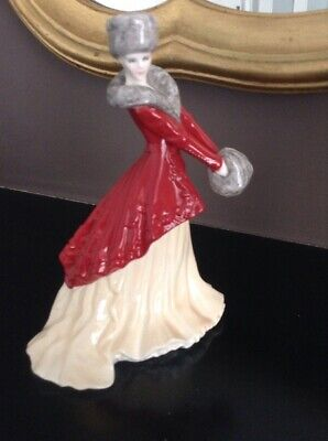 Royal Worcester Limited Edition Christmas Morning Lara Figurine Perfect • 22£