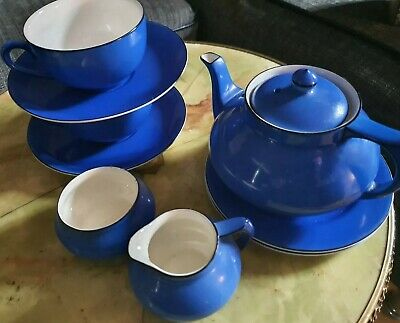 Art Deco Crown Ducal Tea For Two Set • 24£