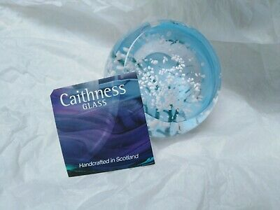 Caithness Glass Paperweight... Brand New, Blossom, Boxed • 15£
