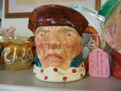 LARGE L & SONS 'THE HIGHWAYMAN' CHARACTER JUG (12.5cm Tall) • 15£