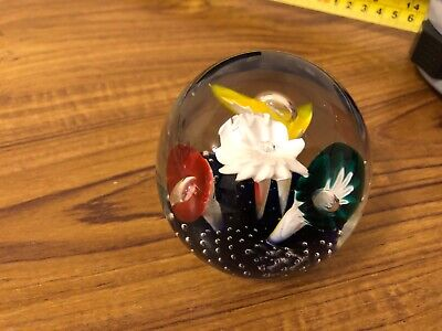 Vintage Murano? Paperweight 7 Cm Wide  • 6£