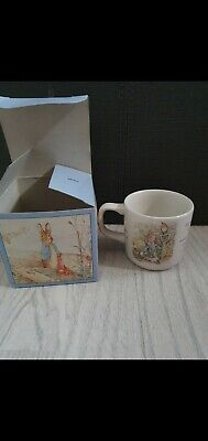 Peter Rabbit Wedgewood Cup New Boxed • 5£