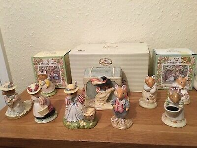 Royal Doulton Brambly Hedge Ornament Bundle With Money Box  • 95£