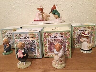 Royal Doulton Brambly Hedge Ornaments Bundle Boxed Including Ice Ball  • 70£
