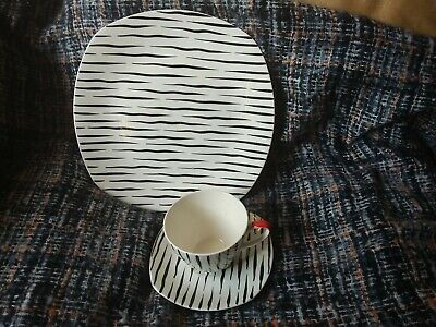 Midwinter Zambesi Coffee Cup And Saucer And 9  Salad Plate • 16.99£
