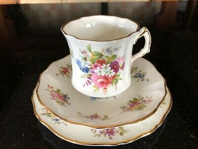 Hammersley Fine Bone China Trio - Cup, Saucer And Side Plate • 18.50£
