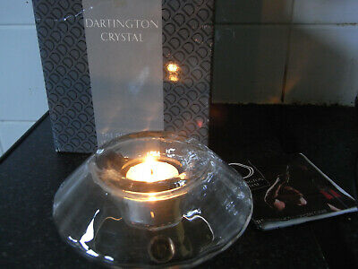 Dartington Crystal Aurea Candle Holder  Boxed • 19.99£