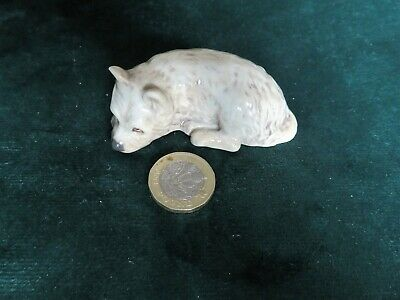 Branksome China Dog - Condition As Found, See Photos • 1.99£
