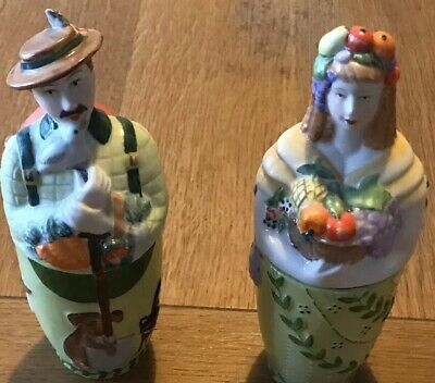 Vilroy/boch Pair Of Candle Holders Collectible.Great Condition No Chips. • 14£