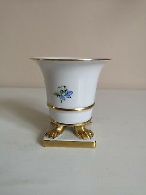 Herend  Kimberly  Claw Footed Urn Shaped Vase • 34.99£