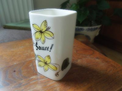 Vintage Sauce Container By Toni Raymond.  Collectable. Retro. 1960's. • 3.25£