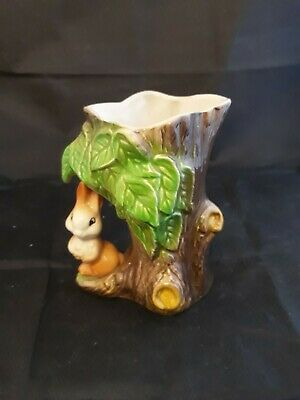 Eastgate Withernsea Pottery Flower Pot /vase/jug  Rabbit Handle Really Cute! Vgc • 3.99£