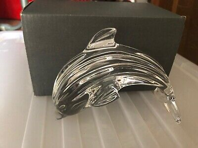Waterford Crystal DOLPHIN Paperweight • 25£