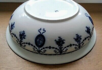 John Maddock Sons Royal Vitreous Superior Wash Bowl In Blue Antique Very Rare • 25£