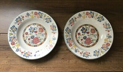 Myott Orient Dynasty Collection 2 Soup Bowls Staffordshire  • 19.95£
