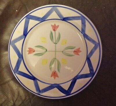 ROYAL NORFOLK DINNERWARE PLATE FLOWERS IN CENTRE 27cms • 1.99£