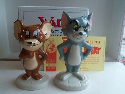 Large New 1997 Wade Collectors Club Tom And Jerry Ltd Edition Boxed COA • 29.99£