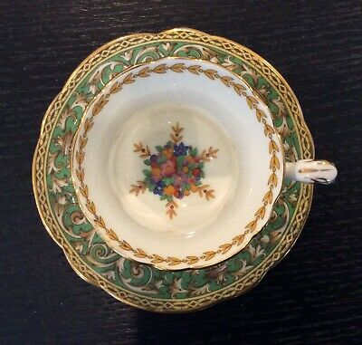 Paragon Queen Mary Tea Cup And Saucer • 7.50£